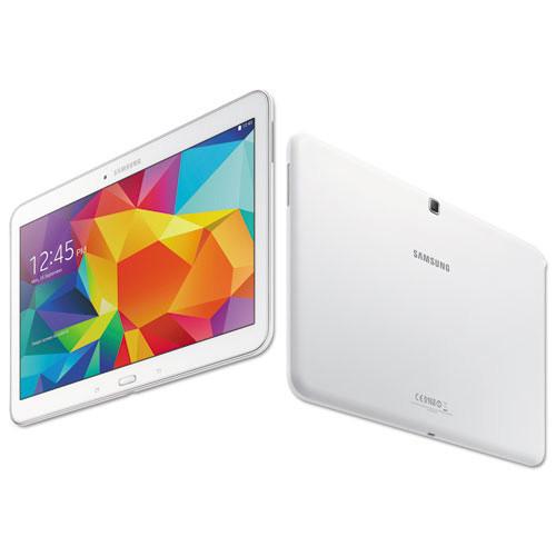 Samsung Galaxy Tab 4 10.1 Tablet, 16 GB, Wi-Fi, White (SASSMT530NZWA)