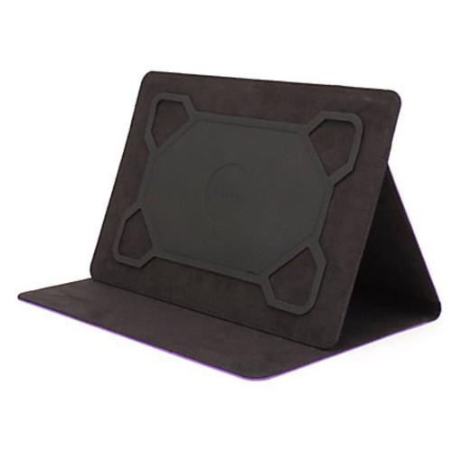 M-Edge Universal Basic Tablet Folio Case, Small, Purple