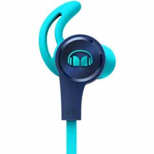 Monster iSport Achieve In-Ear Headphones - Blue