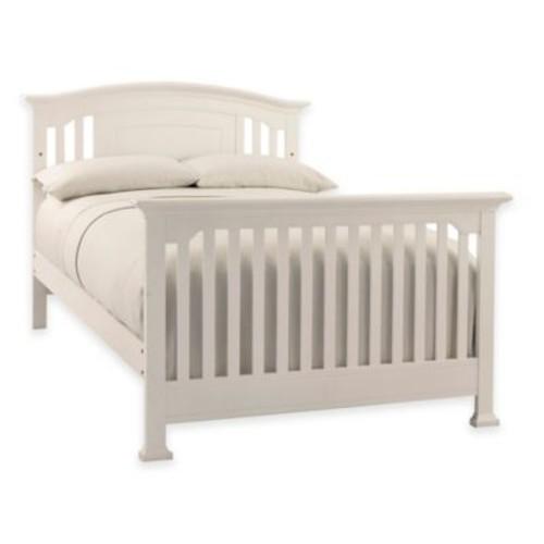 Kingsley Brunswick Full Size Bed Rails in White