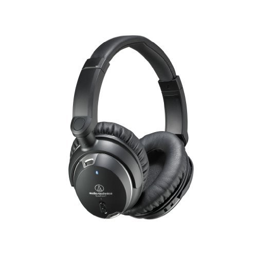 Audio-Technica ATH-ANC29 QuietPoint Active Noise-Cancelling Over-Ear Headphones