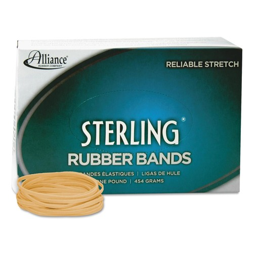 Alliance Rubber 24335 Sterling Rubber Bands Size #33, 1 lb Box Contains Approx. 850 Bands