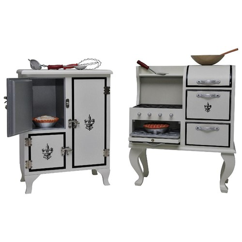 The Queen's Treasures American Kitchen, Furniture Accessory Set for 18 inch Doll