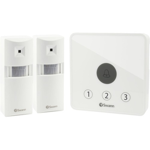 Swann - Wireless Home Security System - White
