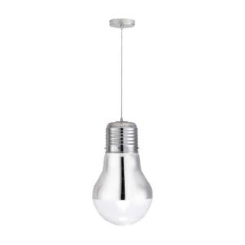 ZUO Gliese 1-Light Chrome Ceiling Pendant