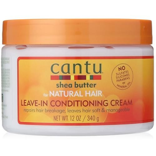 Cantu Shea Butter for Natural Hair Leave In Conditioning Repair Cream