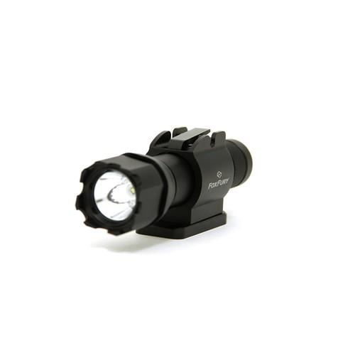 FoxFury 940K-010RSC SideSlide Bolt Side Mounted LED Helmet Light, 200 Lumens
