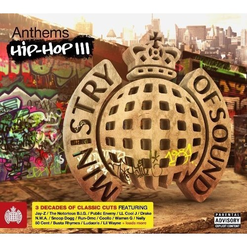 Ministry of Sound: Anthems Hip-Hop III [CD]