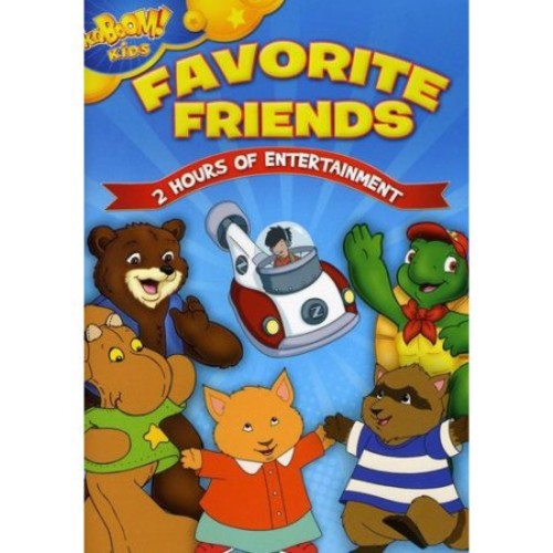 Kaboom Kids: Favorite Friends (DVD)