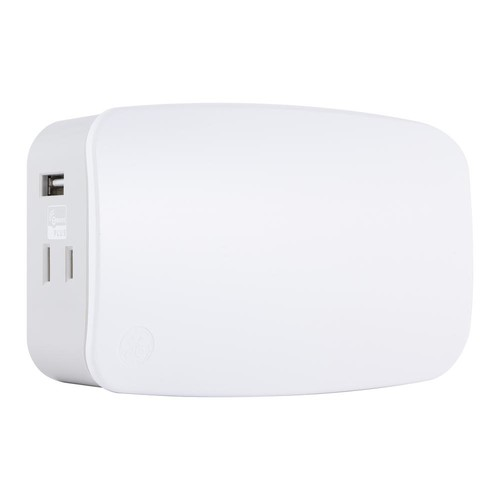 GE Z-Wave Plus Plug-in Smart Dimmer and Dual Outlets with USB Charging