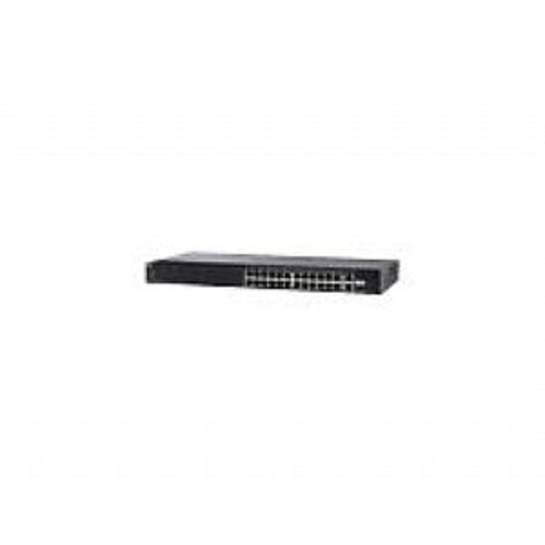 Cisco Small Business SG250-26 - Switch - smart - 24 x 10/100/1000 + 2 x combo Gigabit SFP - rack-mountable