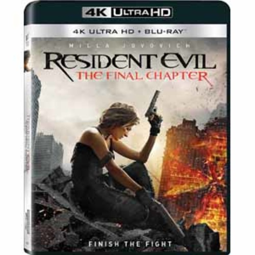 Resident Evil: The Final Chapter [4K UHD] [Blu-Ray]