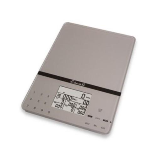 Escali Cesto 11-Pound Portable Digital Food Scale in Silver