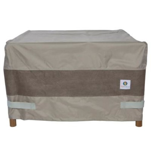 Duck Covers 40 in. Elegant Square Fire Pit Cover