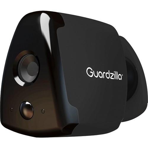 Guardzilla - HD Indoor/Outdoor Wi-Fi Network Surveillance Camera - Black