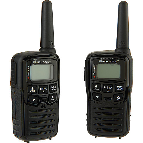Midland X-Talker T10 2-Way Radios - 20-Mile Range