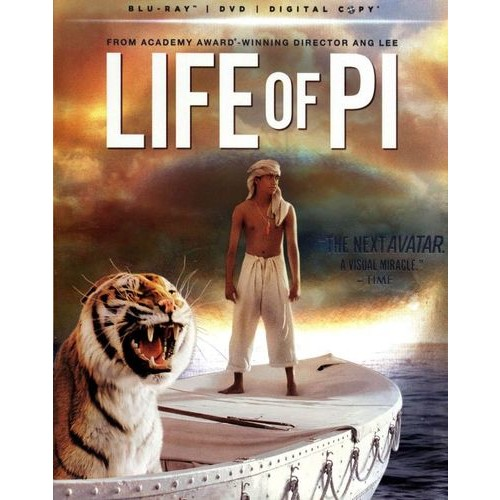 Life of Pi [2 Discs] [Includes Digital Copy] [UltraViolet] [Blu-ray/DVD] [2012]