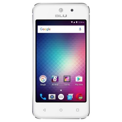 Unlocked BLU Vivo 5 Mini V050Q GSM Quad-Core Dual-SIM Phone - Silver