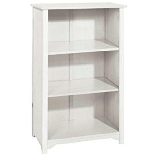Oxford 24 Inch White Six Shelf Open Bookcase, SIX-SHELF/24W, WHITE [White, SIX-SHELF/24W]