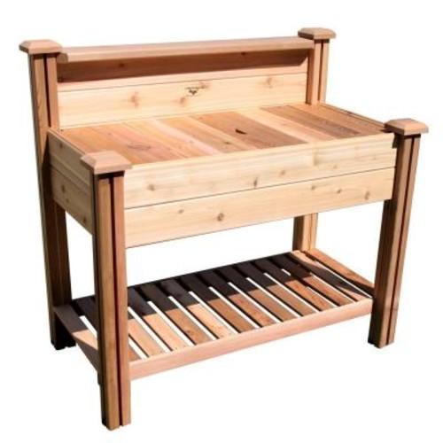 Gronomics Potting Bench With Shelf
