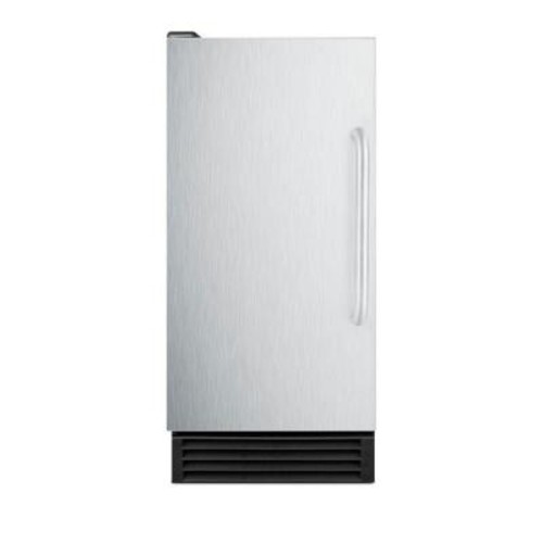 Summit Appliance 50 lb. Built-In Ice Maker in Stainless Steel