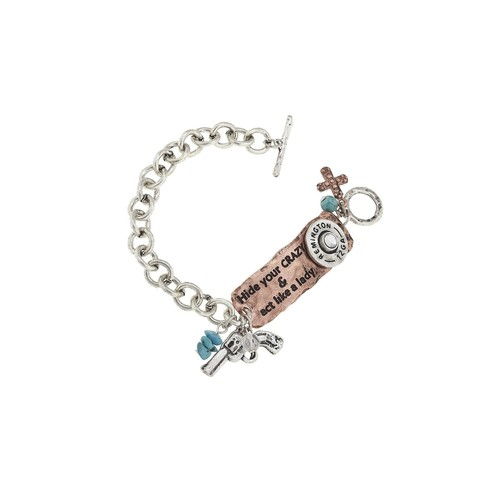 Western Theme Toggle Bracelet