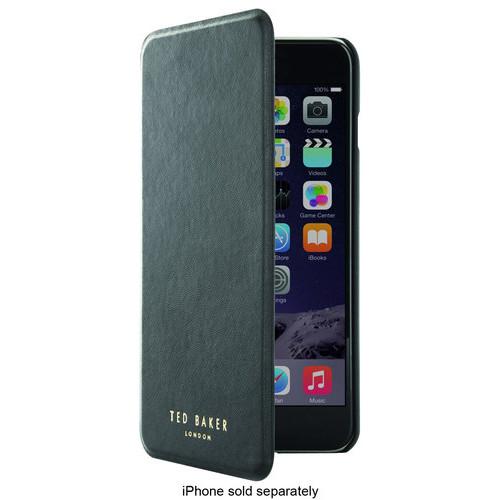 Ted Baker - Folio Case for Apple iPhone 6 Plus - Black