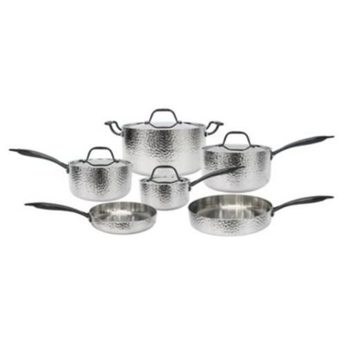 Fleischer & Wolf Seville Tri-Ply Stainless Steel 10-Piece Cookware Set