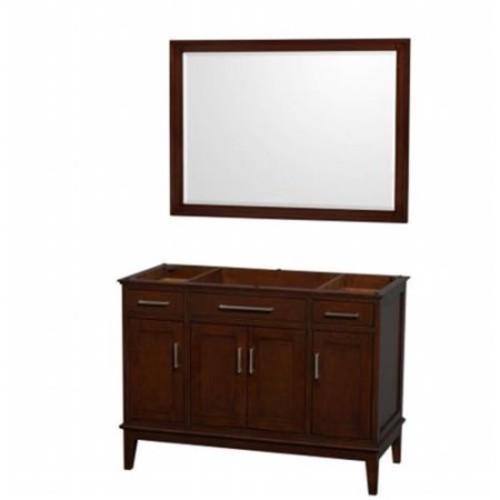 Hatton Collection 48 in Single Bathroom Vanity in Dark Chestnut [WCV161648SCDCXSXXM44]