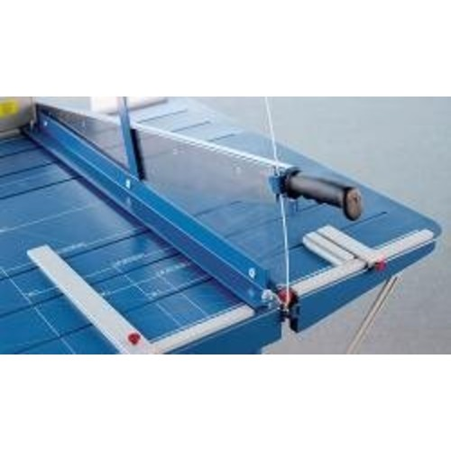 Dahle 585 Premium Large Format Guillotine Lever Style Paper Trimmer With Stand, 43 1/4