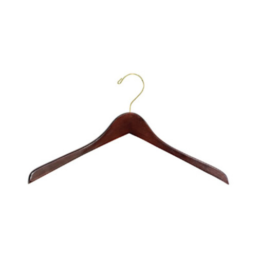 Safco Wood Hangers, Walnut