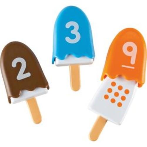 Learning Resources Smart Snacks Number Pops Set 10 Pcs Ast