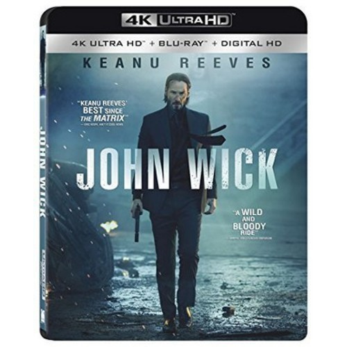 John Wick [4k UHD] [Blu-Ray] [Digital HD]