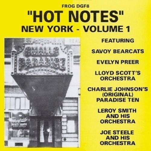Hot Notes: New York, Vol. 1 [CD]
