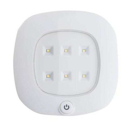 Light It! White Wireless Integrated LED Ceiling Light