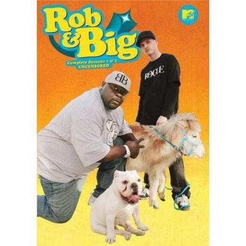 Rob & Big: Complete Seasons 1 & 2 - Uncensored [4 Discs] [DVD]