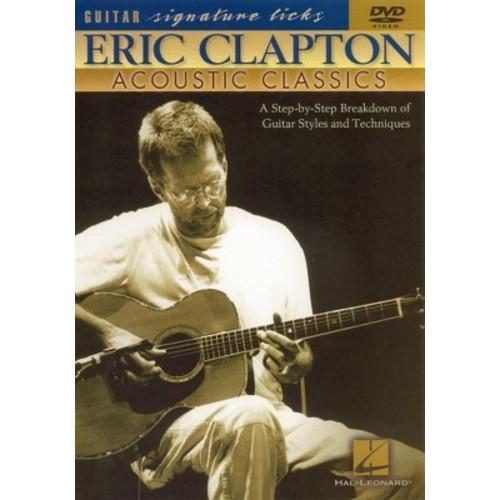 Clapton acoustic (DVD)