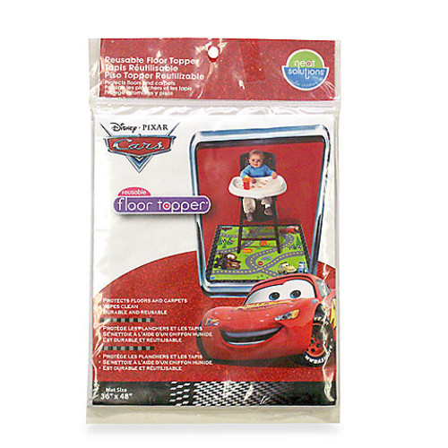 Neat Solutions Disney Pixar CARS Meal and Play Floor Mat