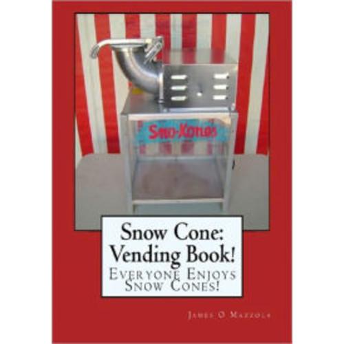 SNOW CONE: VENDING BOOK!