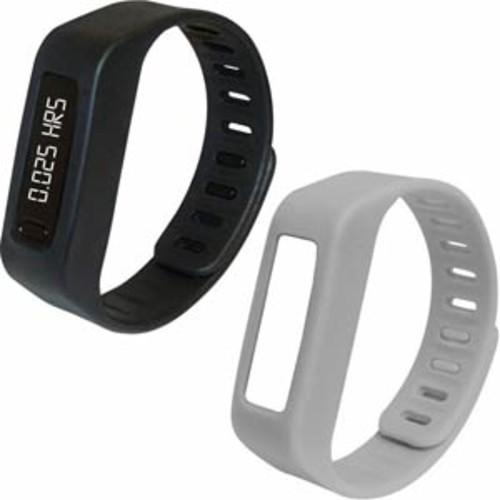 Naxa Lifeforce Fitness Tracker/Watch - Black/Grey