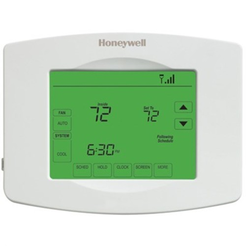 Honeywell Wi-Fi 7 Day Programmable Touchscreen Thermostat - White