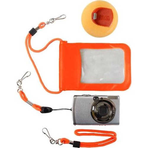 Delkin Devices Jelly Fish Flotation for Digital Cameras, Orange DDFLOATJFISH