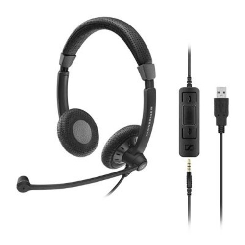 Sennheiser Culture Plus Mobile Wired On-Ear Stereo Headset (SC 75 USB CTRL)