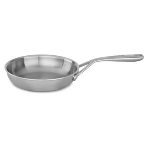 KitchenAid Tri-Ply Stainless Steel Skillets
