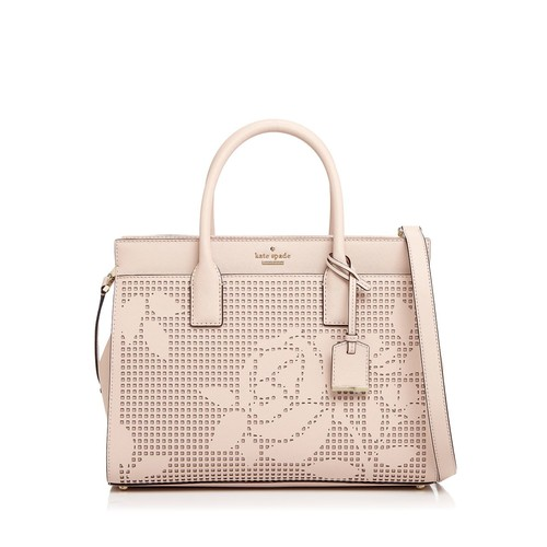 KATE SPADE NEW YORK Cameron Street Candace Perforated Leather Satchel