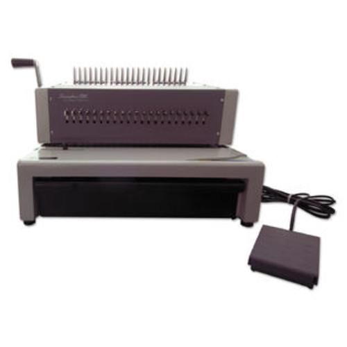 Swingline GBC CombBind C800pro Binding System Binds 500 18 1/2 x 19 5/16 x 14 7/8 Gray