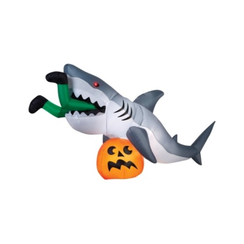 Inflatable Halloween Caught by Shark 48.8