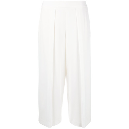 RAG & BONE Front Pleat Cropped Trousers