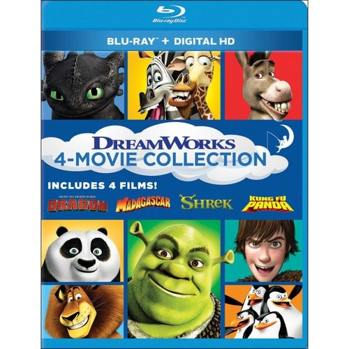 Dreamworks 4-Movie Collection [Blu-ray]