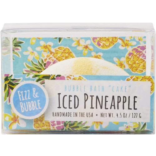 Iced Pineapple Bubble Cake